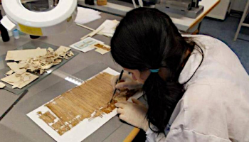 """Intervista con Paola Boffula Alimeni, autrice di""""Il restauro del papiro"""""""