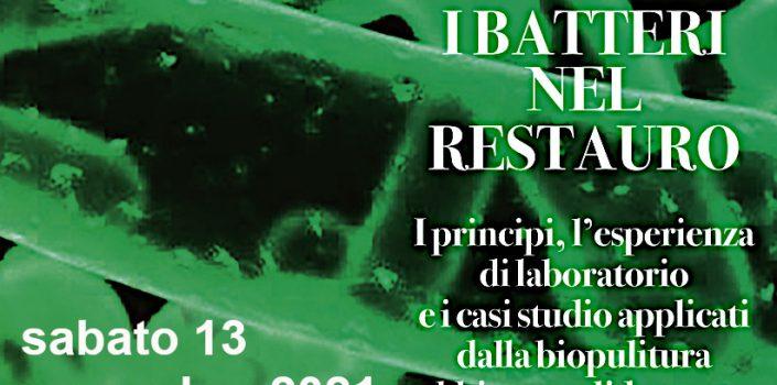 I batteri nel restauro webinar